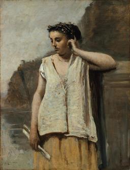 Portrait de Clio en 1865. Source : http://data.abuledu.org/URI/5942d92e-portrait-de-clio-en-1865