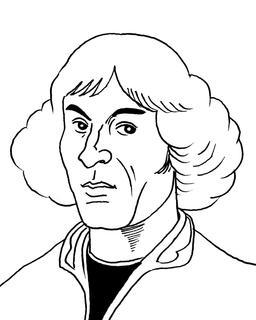 Portrait de Copernic. Source : http://data.abuledu.org/URI/55a28d9f-portrait-de-copernic