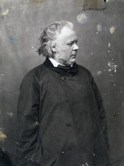 Portrait de Daumier par Nadar. Source : http://data.abuledu.org/URI/53f0bcbb-portrait-de-daumier-par-nadar