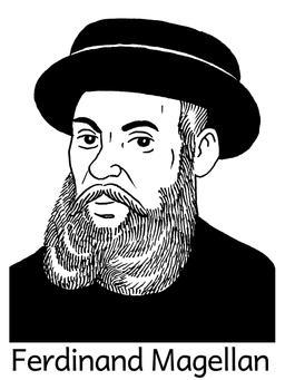 Portrait de Ferdinand Magellan. Source : http://data.abuledu.org/URI/564e582f-portrait-de-ferdinand-magellan