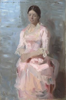 Portrait de Frederikke Tuxen. Source : http://data.abuledu.org/URI/52bb2a83-portrait-de-frederikke-tuxen