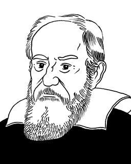 Portrait de Galilée. Source : http://data.abuledu.org/URI/55a2a2c1-portrait-de-galilee