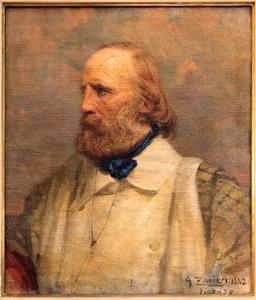 Portrait de Garibaldi vers 1922. Source : http://data.abuledu.org/URI/55019c1b-portrait-de-garibaldi-vers-1922