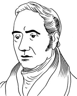 Portrait de Georges Stephenson. Source : http://data.abuledu.org/URI/55a20a6b-portrait-de-georges-stephenson