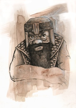Portrait de Gimli, le roi des nains. Source : http://data.abuledu.org/URI/53bad9aa-portrait-de-gimli-le-roi-des-nains