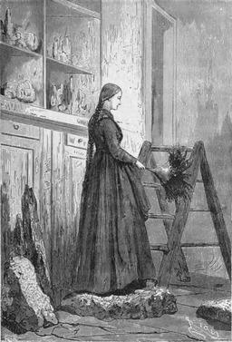 Portrait de Graüben faisant le ménage. Source : http://data.abuledu.org/URI/5280bf83-portrait-de-grauben-faisant-le-menage