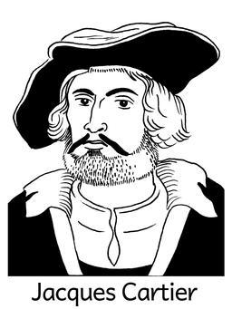 Portrait de Jacques Cartier. Source : http://data.abuledu.org/URI/564e50c6-portrait-de-jacques-cartier