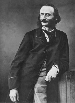 Portrait de Jacques Offenbach par Félix Nadar. Source : http://data.abuledu.org/URI/53f0d306-portrait-de-jacques-offenbach-par-felix-nadar