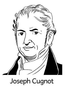 Portrait de Joseph Cugnot. Source : http://data.abuledu.org/URI/564e52b6-portrait-de-joseph-cugnot