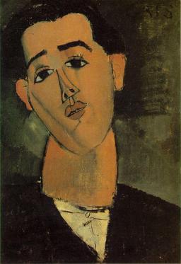 Portrait de Juan Gris. Source : http://data.abuledu.org/URI/50ff3f49-portrait-de-juan-gris