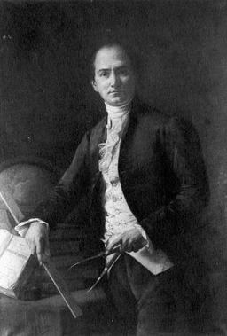 Portrait de l'astronome Jean-Baptiste Delambre. Source : http://data.abuledu.org/URI/52ac9e25-portrait-de-l-astronome-jean-baptiste-delambre