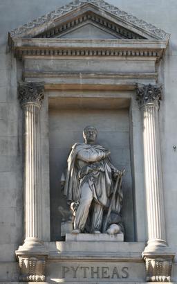 Portrait de l'explorateur grec Pythéas. Source : http://data.abuledu.org/URI/53b3ab97-portrait-de-l-explorateur-grec-pytheas
