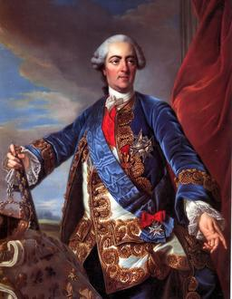Portrait de Louis XV. Source : http://data.abuledu.org/URI/53079aec-portrait-de-louis-xv
