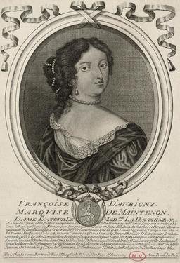 Portrait de Madame de Maintenon. Source : http://data.abuledu.org/URI/592b40d7-portrait-de-madame-de-maintenon