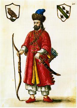 Portrait de Marco Polo en costume tartare. Source : http://data.abuledu.org/URI/53b40d3a-portrait-de-marco-polo-en-costume-tartare