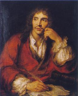 Portrait de Molière à la plume d'oie. Source : http://data.abuledu.org/URI/519e7209-portrait-de-moliere-a-la-plume-d-oie