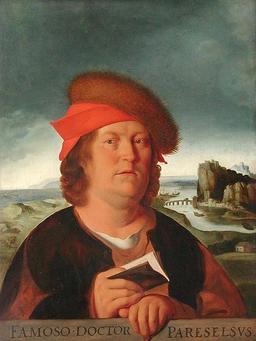 Portrait de Paracelse. Source : http://data.abuledu.org/URI/529e5e67-portrait-de-paracelse