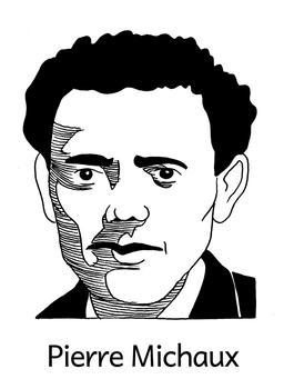 Portrait de Pierre Michaux. Source : http://data.abuledu.org/URI/564e540e-portrait-de-pierre-michaux