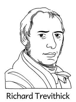 Portrait de Richard Trevithick. Source : http://data.abuledu.org/URI/564e54a3-portrait-de-richard-trevithick