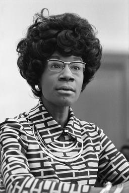 Portrait de Shirley Chisholm. Source : http://data.abuledu.org/URI/56d5f060-portrait-de-shirley-chisholm