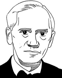 Portrait de Sir Alexander Fleming en 1945. Source : http://data.abuledu.org/URI/559ef402-portrait-de-sir-alexander-fleming-en-1945