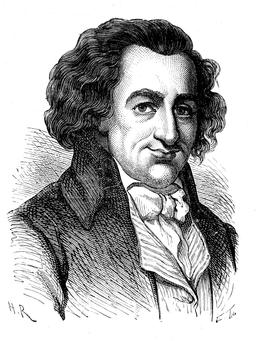 Portrait de Thomas Paine. Source : http://data.abuledu.org/URI/51af08df-portrait-de-thomas-paine