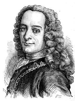 Portrait de Voltaire. Source : http://data.abuledu.org/URI/51af0246-portrait-de-voltaire