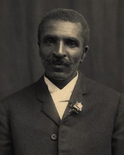 Portrait du botaniste américain Carver en 1902. Source : http://data.abuledu.org/URI/58a88617-portrait-du-botaniste-americain-carver-en-1902
