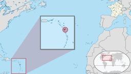 Position de la Guadeloupe. Source : http://data.abuledu.org/URI/50f7120c-position-de-la-guadeloupe