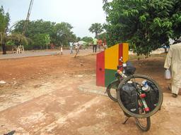 Poste frontalier de Mpack au Sénégal. Source : http://data.abuledu.org/URI/54934c21-poste-frontalier-de-mpack-au-senegal