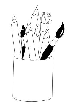 Pot à crayons. Source : http://data.abuledu.org/URI/502778fd-pot-a-crayons
