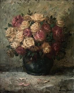 Pot Bleu et Roses. Source : http://data.abuledu.org/URI/51a63648-pot-bleu-et-roses