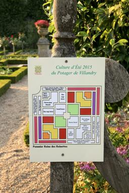 Potager de Villandry. Source : http://data.abuledu.org/URI/55e760da-potager-de-villandry