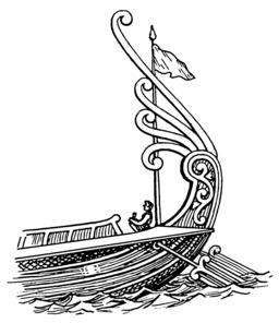 Poupe de vaisseau antique avec gouvernail. Source : http://data.abuledu.org/URI/53eba081-poupe-de-vaisseau-antique-avec-gouvernail