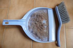 Poussière de maison dans une pelle. Source : http://data.abuledu.org/URI/52373521-poussiere-de-maison-dans-une-pelle