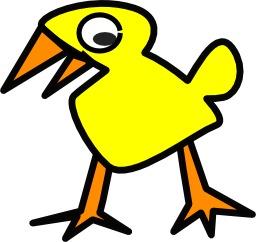 Poussin jaune. Source : http://data.abuledu.org/URI/5049a666-poussin-jaune