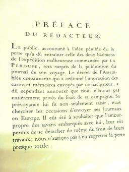 Préface du journal de bord de Lapérouse. Source : http://data.abuledu.org/URI/596e386b-preface-du-journal-de-bord-de-laperouse