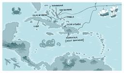 Premier voyage de Christophe Colomb. Source : http://data.abuledu.org/URI/55a3884c-premier-voyage-de-christophe-colomb