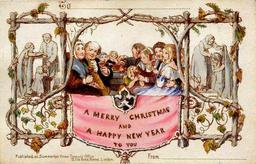 Première carte de Noël. Source : http://data.abuledu.org/URI/52b8c6b7-premiere-carte-de-noel