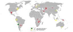 Production mondiale de cuivre en 2005. Source : http://data.abuledu.org/URI/51253a81-production-mondiale-de-cuivre-en-2005