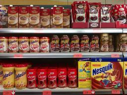 Produits à base de chocolat en poudre. Source : http://data.abuledu.org/URI/5198a1d4-produits-a-base-de-chocolat-en-poudre