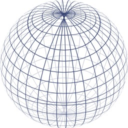 Projection orthogonale d'une sphère. Source : http://data.abuledu.org/URI/525a7433-projection-orthogonale-d-une-sphere