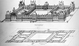 Projet du château des Tuileries. Source : http://data.abuledu.org/URI/50e81a4f-projet-du-chateau-des-tuileries