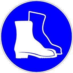 Protection obligatoire des pieds. Source : http://data.abuledu.org/URI/51bf60fe-protection-obligatoire-des-pieds