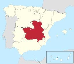 Province espagnole de La Mancha. Source : http://data.abuledu.org/URI/56dee613-province-espagnole-de-la-mancha