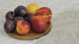 Prunes et Nectarines. Source : http://data.abuledu.org/URI/53ab0877-prunes-et-nectarines