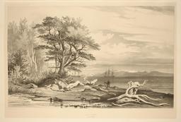 Puerto Hambre en 1837. Source : http://data.abuledu.org/URI/59803d12-puerto-hambre-en-1837
