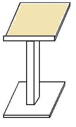 Pupitre à pied. Source : http://data.abuledu.org/URI/50858c92-pupitre-a-pied