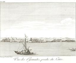 Pyramides près du Caire en 1799. Source : http://data.abuledu.org/URI/591e2cf8-pyramides-pres-du-caire-en-1799