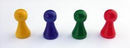 Quatre pions de couleur. Source : http://data.abuledu.org/URI/50f41a2f-quatre-pions-de-couleur